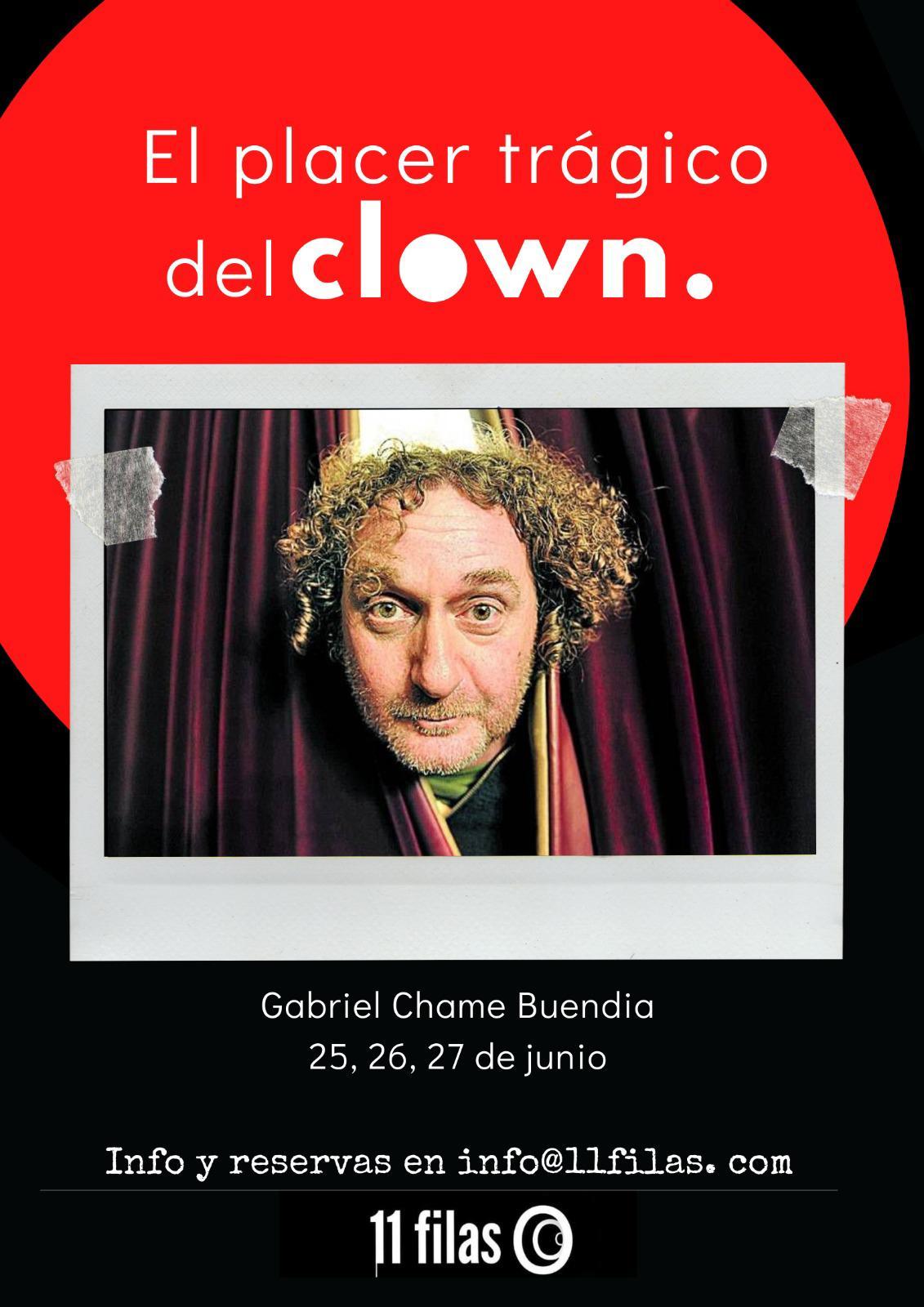 Curso de Clown con Gabriel Chame
