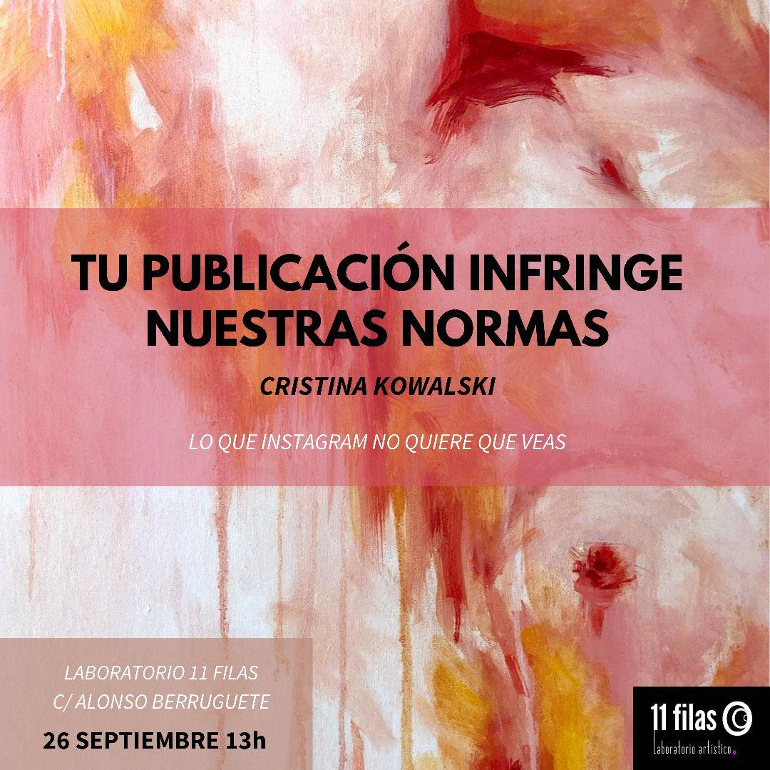 Nueva exposición pictórica por Cristina Kowalski