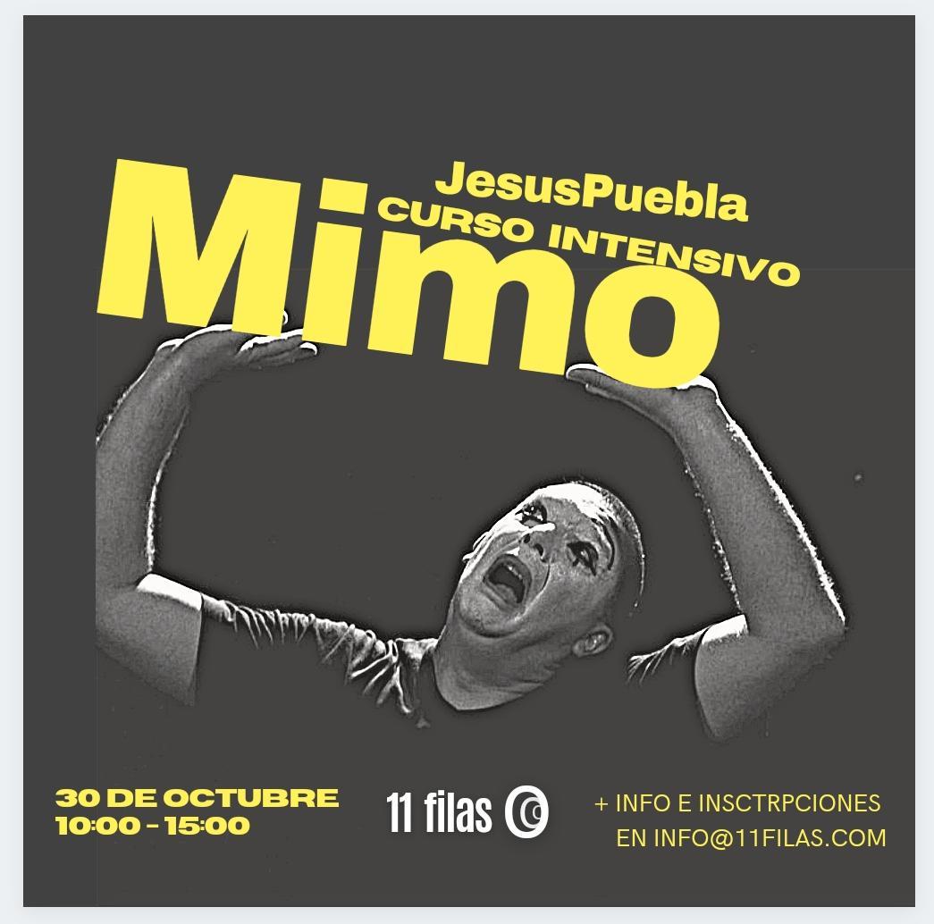 Curso de mimo con Jesús Puebla